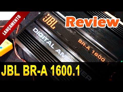 LANÇAMENTO JBL BR A 1600.1 2 Ohms - Review Técnico e Prático!