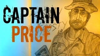 How to Draw Captain Price from COD 4