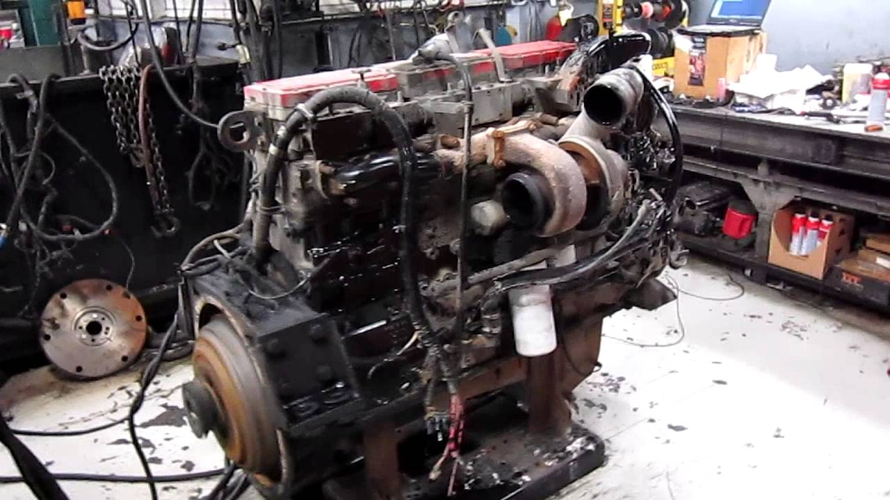2002 Cummins N14 Celect Plus Diesel Engine  YouTube