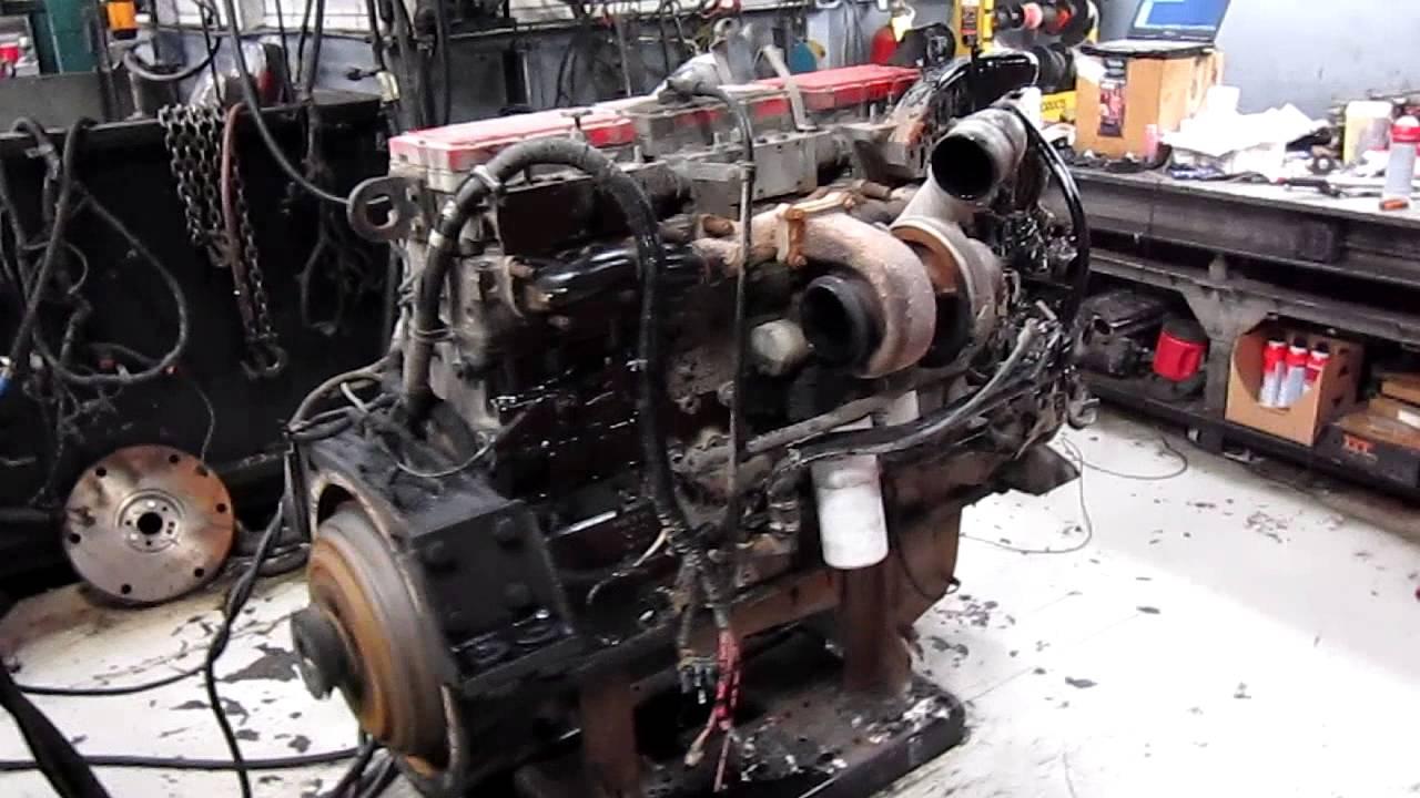 2002 Cummins N14 Celect Plus Diesel Engine Youtube