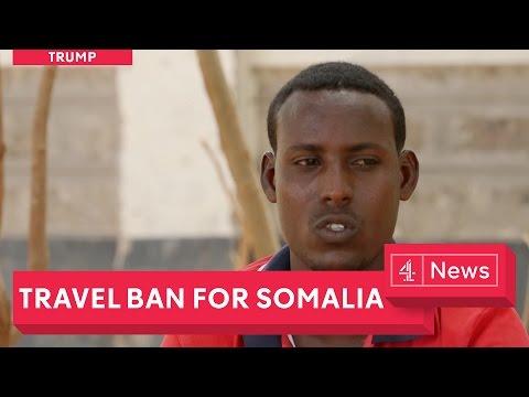 Somalia's crisis: trying to reach Trump's America