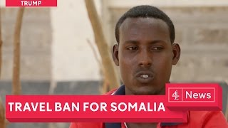 Somalia's crisis: trying to reach Trump's America