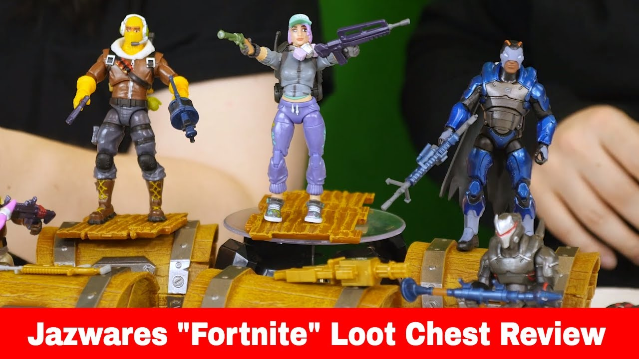 Fortnite Loot Chests Toy Review
