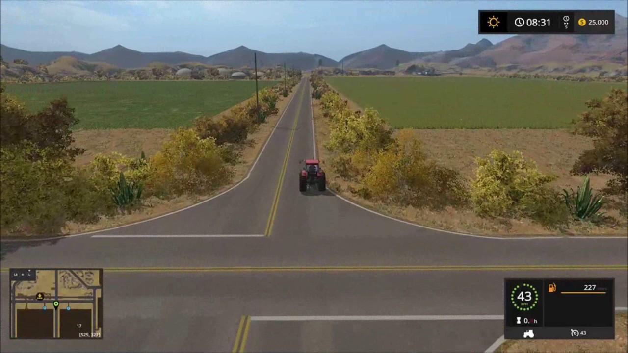 Farming Simulator 17 American Map.Farming Simulator 17 American Outback Map Tour Youtube