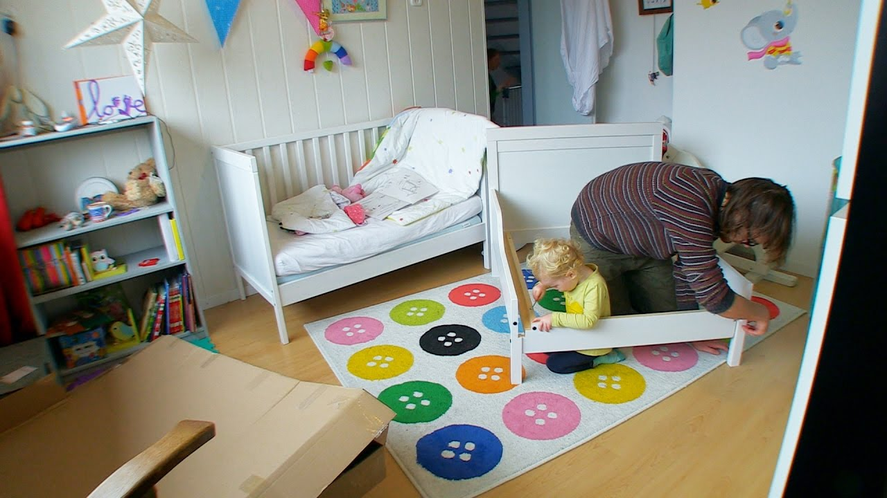 toddler vs ikea sundvik bed youtube. Black Bedroom Furniture Sets. Home Design Ideas