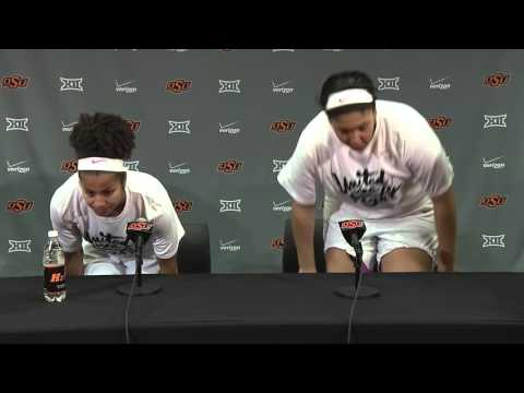 Cowgirl Basketball vs West Virginia Post Game