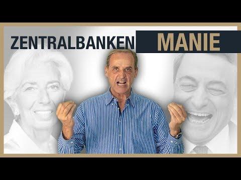 GELD DRUCKEN: Zentralbanken gehen an die Grenze