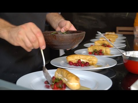 CHILEAN COOKING CLASS | Ceviche, Pisco Sour, Sopapillas!