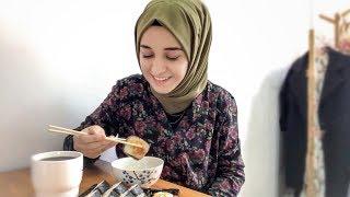 SUSHI MUKBANG! 🥢🍱  Çin'i seviyor muyum, yemeklerde zorlanıyor muyum?