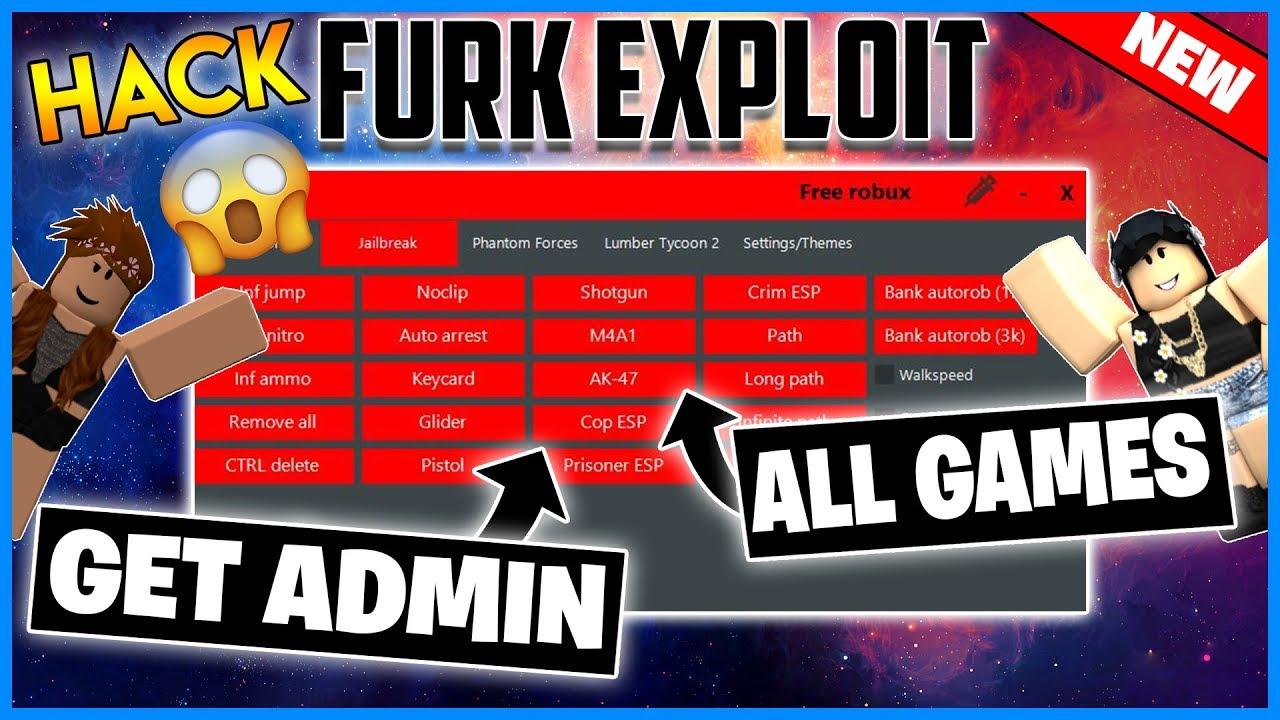New Roblox Exploit Furk Jailbreak Lumber Tycoon 2