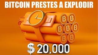 BITCOIN prestes a explodir? Cheirinho de $20.000