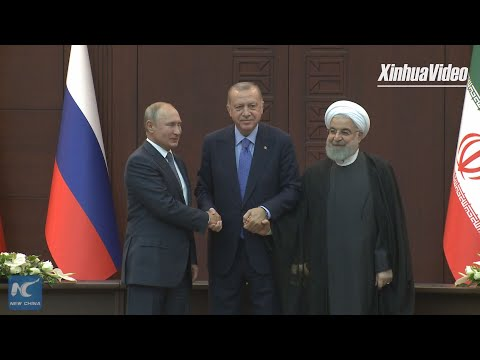 Turkey, Russia, Iran Discuss Syria's Idlib Situation