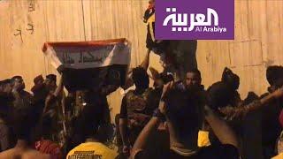كيف هو اليوم التاسع عشر في تظاهرات العراق؟