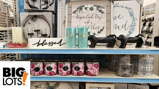 BIG LOTS - SHOP WITH ME SPRING WALK THROUGH 2019