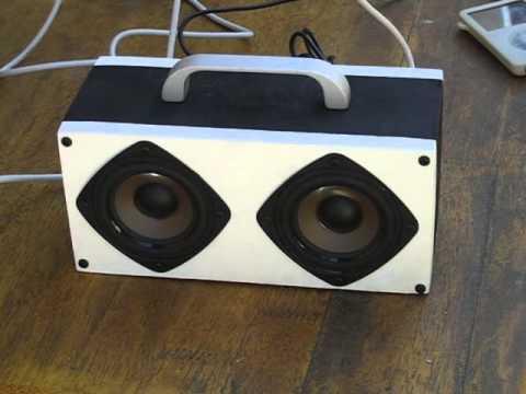 diy pelican boombox video schematics description doovi. Black Bedroom Furniture Sets. Home Design Ideas