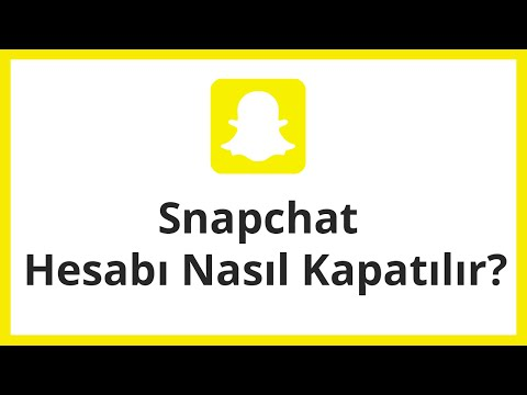 Snapchat account silmek