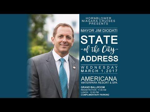 Mayor Jim Diodati - State of the City Address 2017