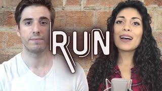 Run (Snow Patrol) - Nayeli Abrego & Zack Krajnyak Cover