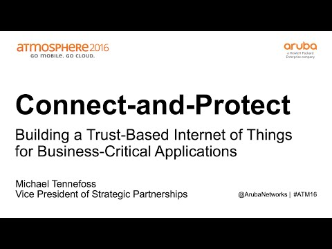 [ATM16] Building a Trust Based Internet of Things For Business Critical Applications