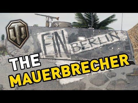 World of Tanks || MAUERBRECHER - Tank Review