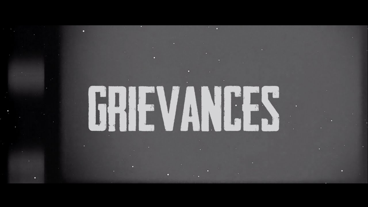 Anthony John, Mark Battles - Grievances (Official Lyric Video) #1