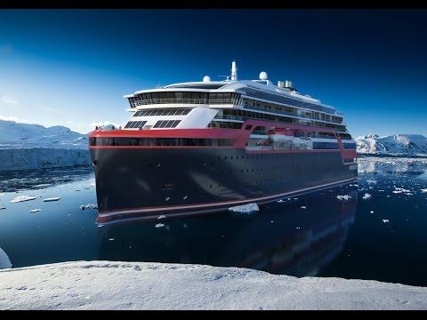 Introducing Hurtigruten's new ship: MS Roald Amundsen
