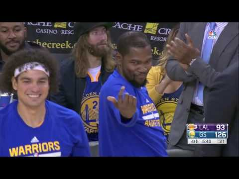 Kevin Durant's Best Moments- As a Warrior