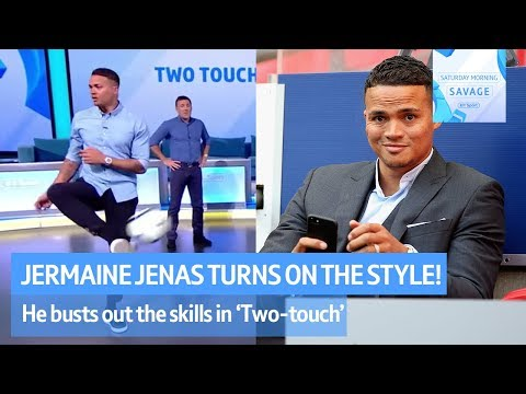 Jermaine Jenas turns on the style against Robbie Savage in Two-Touch! - Saturday Morning Savage