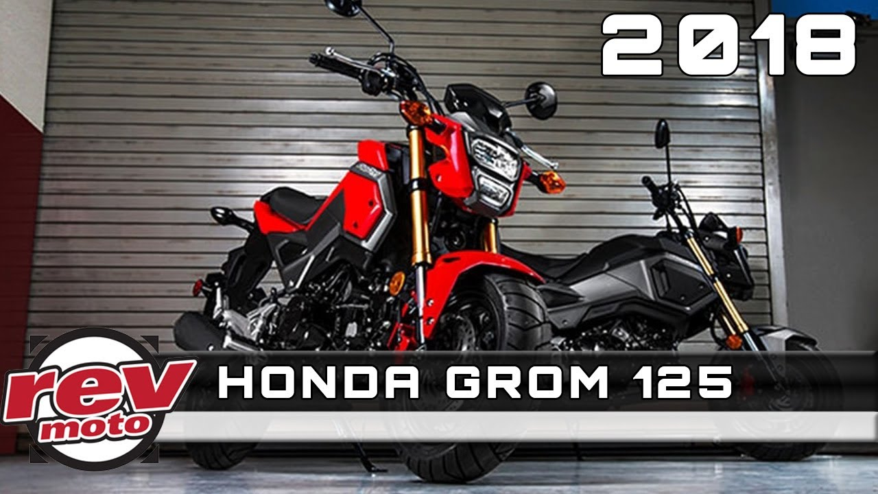 2018 honda grom 125 review rendered price release date