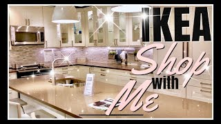IKEA Shop with Me | Tour of IKEA Kitchen Dining Living Bedding Office Decor