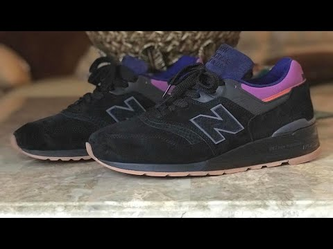 new balance 997 desert heat black