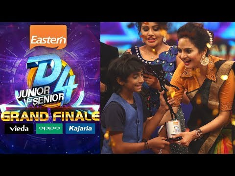 D4 Junior Vs Senior I The 'Grand Finale' I Mazhavil Manorama