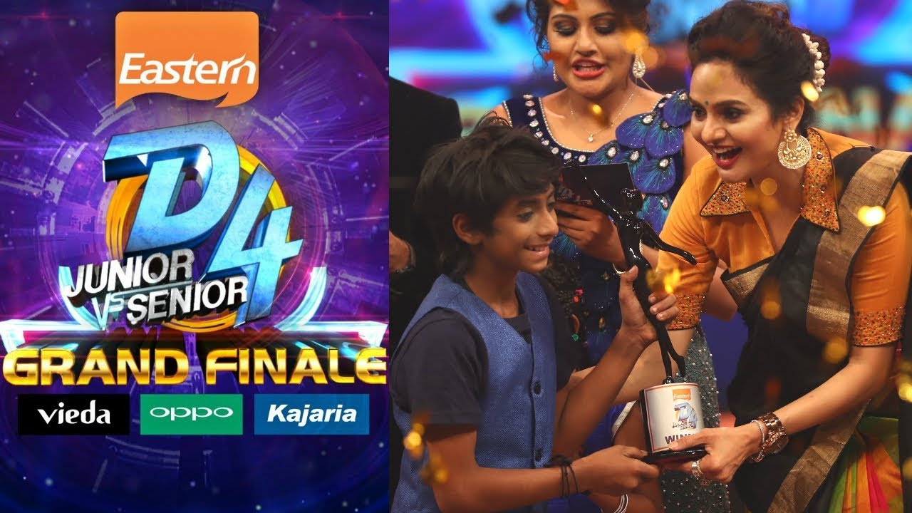 D4 Junior Vs Senior I 'Grand Finale' I Mazhavil Manorama
