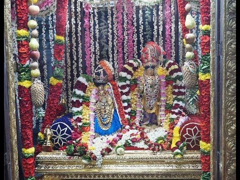 30 Mar 2018 Panguni Uthiram Serthi at Mumbai Chembur Sri Ahobila Mutt Temple