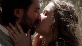 The Ottoman Lieutenant (2017): Michiel Huisman kissing Michiel Huisman