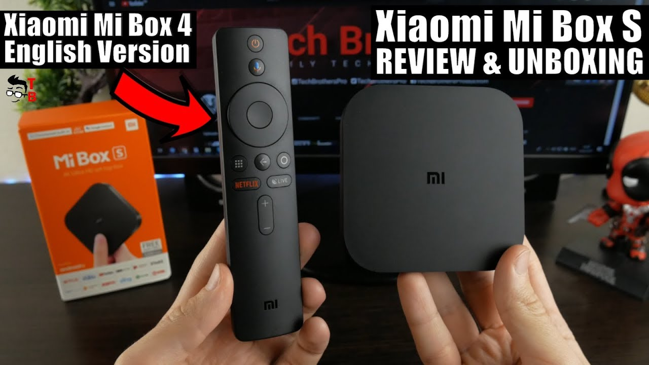 Xiaomi Mi Box S REVIEW & Unboxing: The Best Android TV Box 2019!
