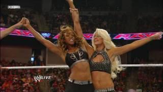 Divas Champion Eve & Gail Kim vs. Alicia Fox & Maryse