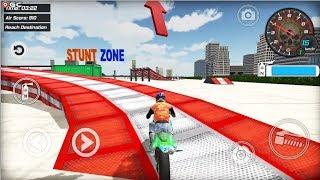 "Extreme Bike Simulator ""LV7-10"" Stunt Bike Racing Games - Android Gameplay FHD"