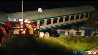 قتيلان في تصادم قطار ركاب بشاحنة شمال إيطاليا