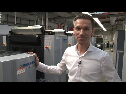 Customer testimonial HAHN Media & Druck GmbH, Germany. Speedmaster SX 52 LE UV.