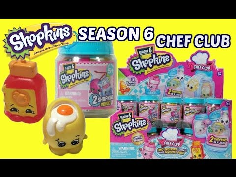 Full Box Shopkins Season 6 Chef Club...