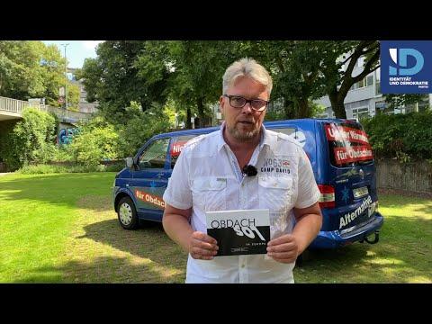 """Video zur Buchvorstellung: """"Obdachlos in Europa"""" von Guido Reil, AfD 30.07.2020"""
