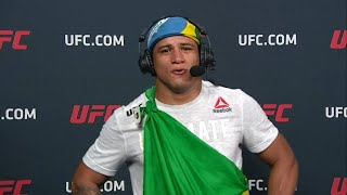 UFC Vegas: Gilbert Burns Post-fight Interview