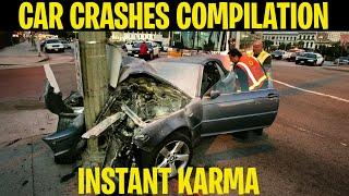 INSTANT KARMA CAR CRASH COMPILATION INSTANT JUSTICE 2019 #1