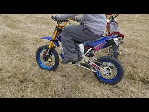 DB-25 125cc Dirt Bike Pit Bike Racing Series With Aluminum Frame