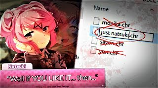 FILES DELETED to CREATE... JUST NATSUKI | Doki Doki Literature Club (Just Natsuki)