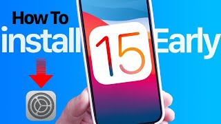 How to Install iOS 15 (BETA)