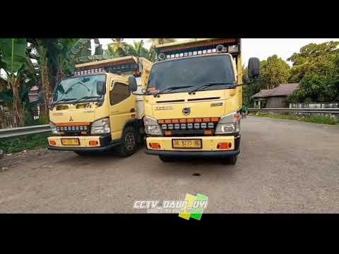 Download Dua selebritis truk Kalimantan bersanding bersama || Adi Lesmana dan Zul fiannor ||