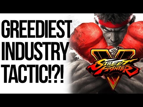 Street Fighter V Adds In-Game Ads! Corporate Rant!