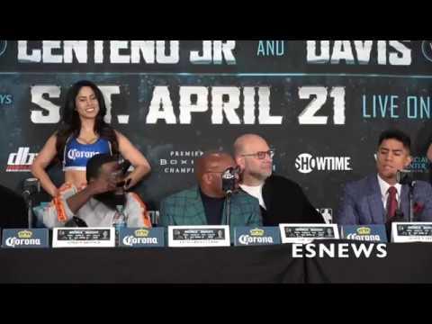 FIRE SHOTS Broner and Vargas exchange words at presser - EsNews Boxing